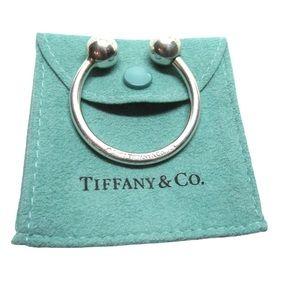 Authentic TIFFANY & CO Ball Key Ring